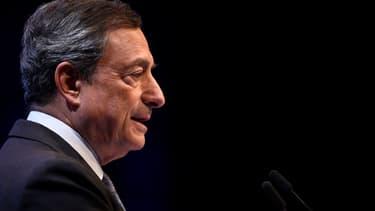 Le président de la BCE Mario Draghi a reçu un salaire de près de 400.000 euros l'an dernier.