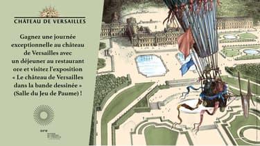 Exposition Le château de Versailles dans la bande dessinée