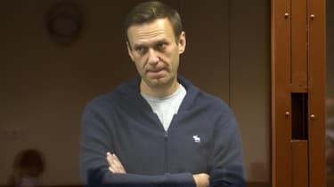 Photo de l'opposant russe Alexeï Navalny, fournie par le tribunal de Moscou chargé de le juger pour diffamation, le 12 février 2021