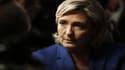 """Marine Le Pen vante le """"patriotisme économique""""."""