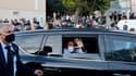 Emmanuel Macron à la cité Bassens de Marseille ce mercredi.