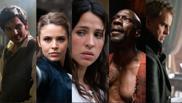 Le casting de La Révolution, nouvelle série française de Netflix.