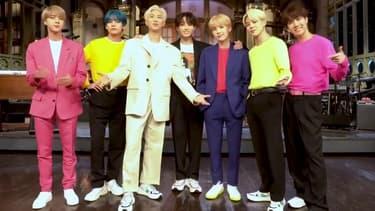 Le groupe BTS au Saturday Night Live