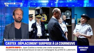 Déplacement surprise de Jean Castex à La Courneuve (1/2) - 05/07