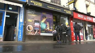 L'agence Western Union d'Aubervilliers