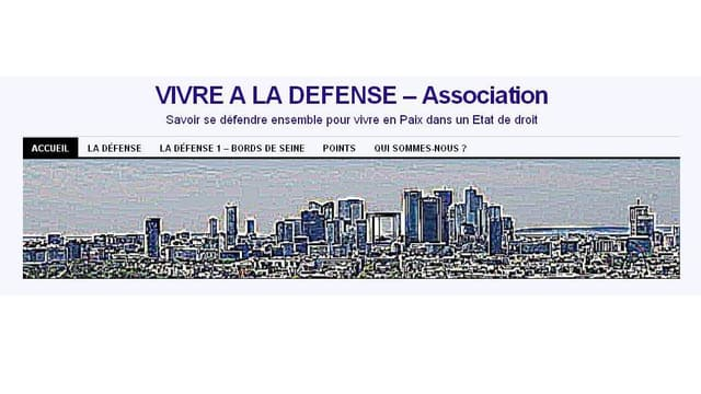 """L'association """"Vivre à La défense"""""""