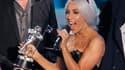 """Lady Gaga a été sacrée dimanche soir reine des MTV Video Music Awards en remportant au total huit distinctions pour son clip """"Bad Romance"""" et son duo avec Beyoncé, """"Telephone"""". /Photo prise le 12 septembre 2010/REUTERS/Mike Blake"""
