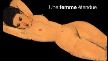 La vidéo censurée par Facebook  présente un nu couché de Modigliani.