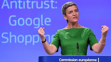 Margrethe Vestager, commissaire européenne, gère le dossier Google Shopping.