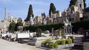 Photo d'illustration d'un cimetière