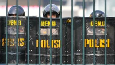 La police indonésienne. Photo d'illustration