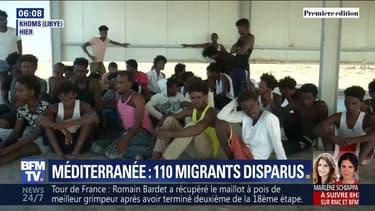 115 personnes sont portées disparues après le naufrage d'un bateau de migrants en Méditerranée
