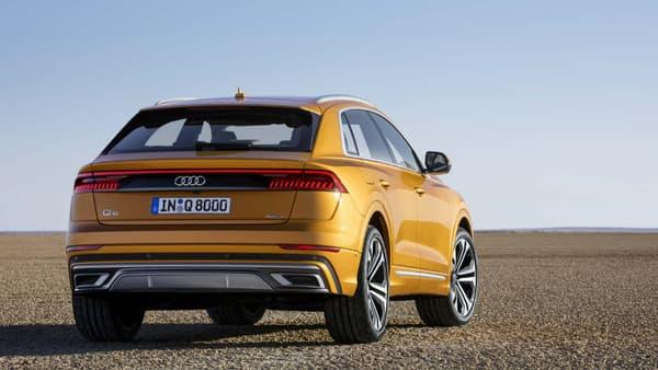 La face arrière rappelle la toute dernière Audi A8.
