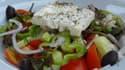 La salade grecque, emblème du régime méditerranéen.