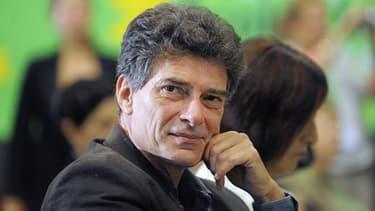 Pascal Durand, secrétaire général d'Europe Ecologie Les Verts (EELV) en septembre 2012 à Nantes.