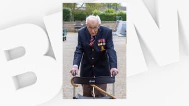 Tom Moore a déjà récolté près de 2 millions de livres sterling pour les soignants
