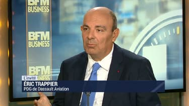Eric Trappier était l'invité de BFM Business.