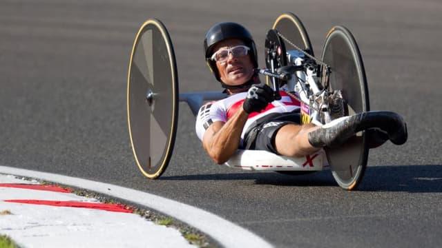 Heinz Frei, champion paralympique à Londres.