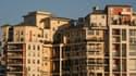 Immeubles d'habitation à Nanterre, le 15 décembre 2007.