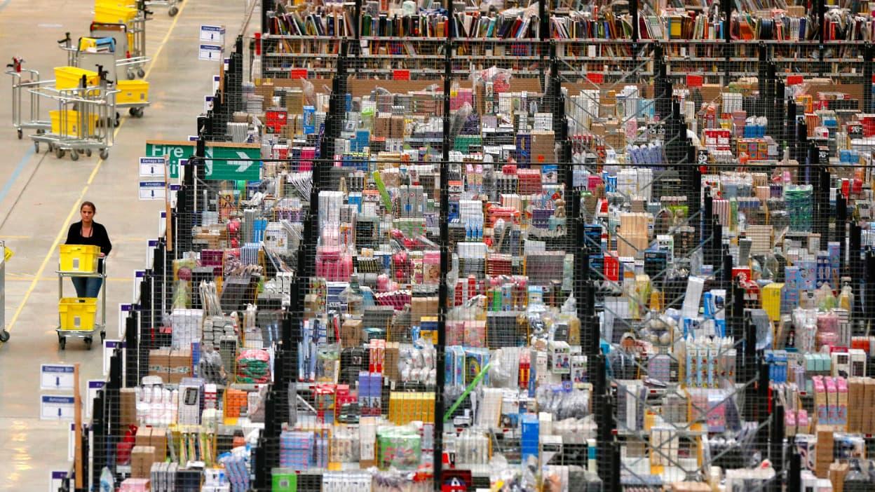 les commerçants ulcérés que les entrepôts de e-commerce ne soient pas concernés par le gel d'implantation