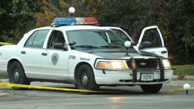 Un véhicule de police américain (Photo d'illustration).