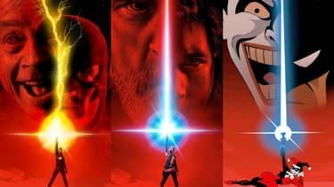"""L'affiche de """"Star Wars VIII: les Derniers Jedi"""" a été largement parodiée"""
