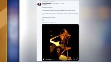L'agression a été filmée et diffusée sur Twitter.