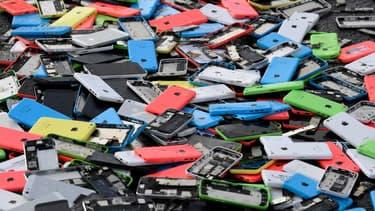 4000 téléphones détruits par les employés de Remade le 13 décembre 2019