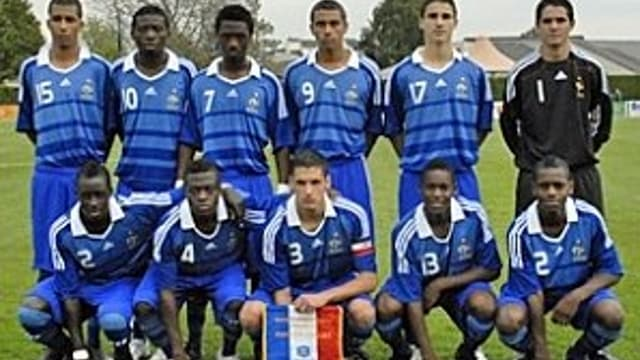 L'équipe de France des moins de 19 ans