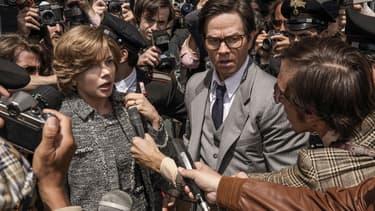 """Michelle Williams et Mark Walhberg dans """"Tout l'argent du monde"""", réalisé par Ridley Scott"""