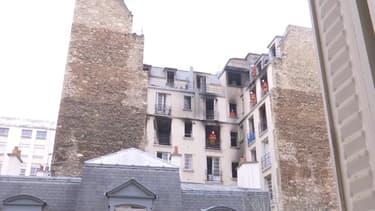 L'immeuble incendié rue Erlanger demeure inaccessible jusqu'à nouvel ordre.