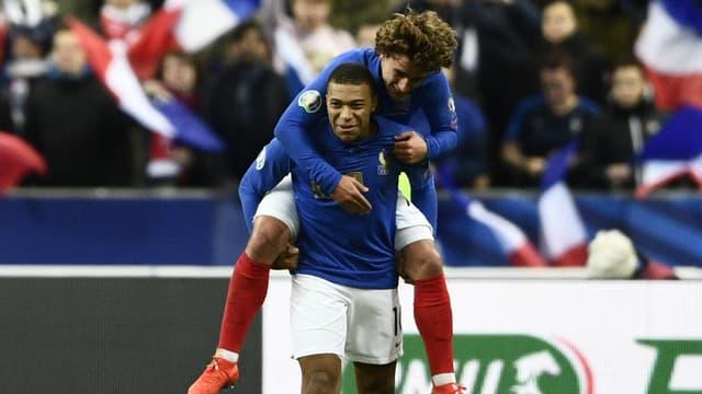 Kylian Mbappé et Antoine Griezmann ont régalé contre l'Islande (4-0)