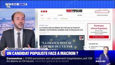 Un candidat populiste face à Macron ? - 23/06