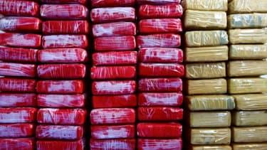 Saisie de cocaïne à Fort-de-France, en Martinique, le 22 juin 2010
