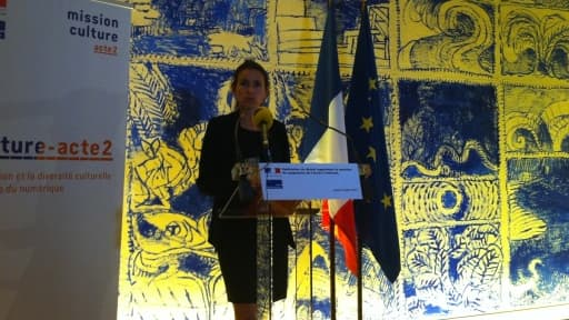 Aurélie Filippetti a répondu à ceux qui ne voient pas de différences avec la politique du gouvernement précédent