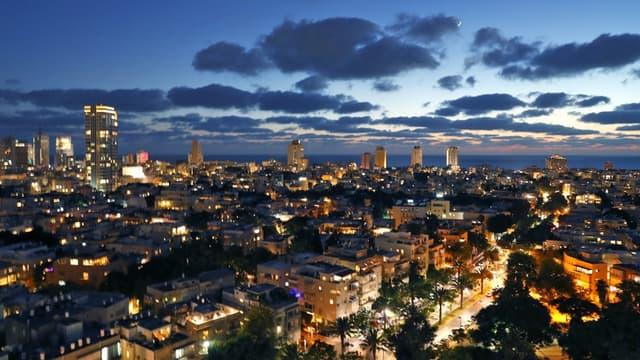 La ville de Tel-Aviv en Israël le 23 juin 2020.