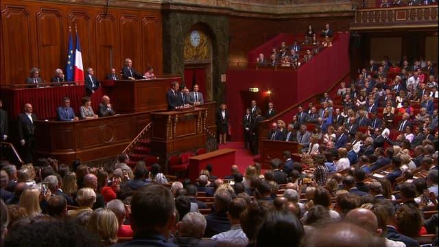 Emmanuel Macron s'est exprimé devant le Congrès, réuni à Versailles.