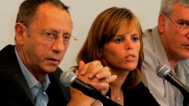 Claude Fauquet, ici aux côtés de Laure Manaudou