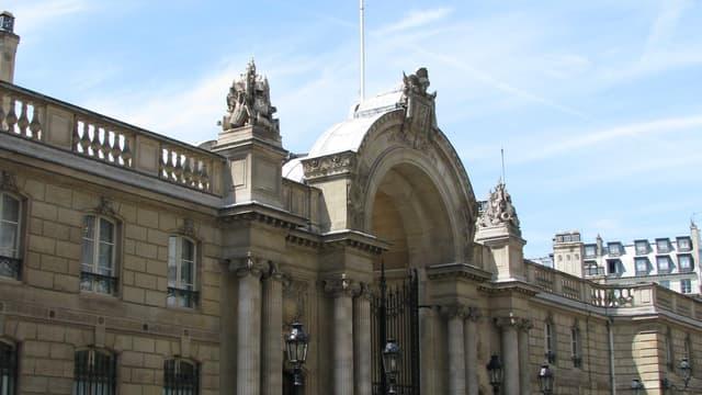 Le Palais de l'Elysée (illustration)
