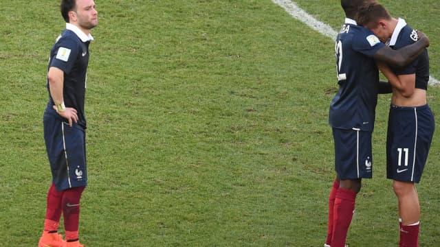 Antoine Griezmann et Mathieu Valbuena