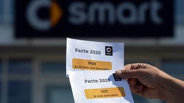 L'usine de Smart Hambach est en pleine négociations.