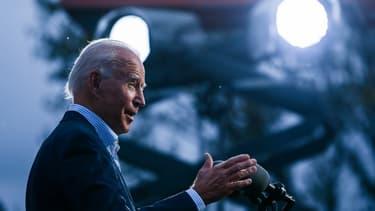 L'ancien vice-président Joe Biden, le 10 octobre 2020 à Erié, en Pennsylvanie