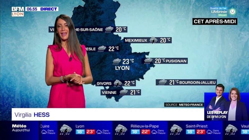 Météo à Lyon: un temps pluvieux et des températures plus fraîches toute la journée