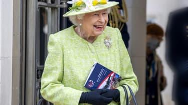La reine Elizabeth II, 94 ans, le 31 mars 2021, dans le Surrey, en Angleterre
