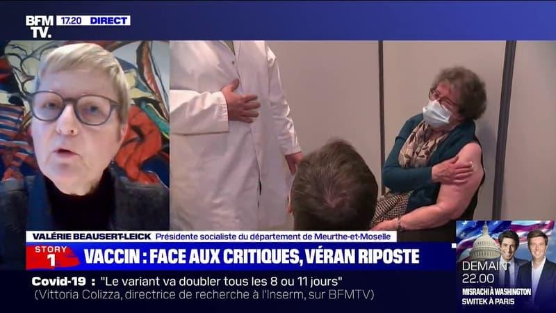 """Vaccination: Valérie Beausert-Leick a proposé à Olivier Véran de s'appuyer sur """"l'expertise des sapeurs-pompiers"""" en matière de logistique"""