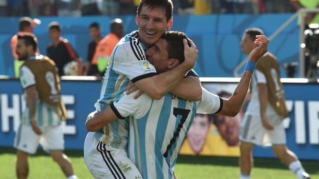 Leo Messi-Angel Di Maria