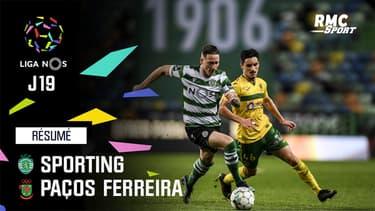 Résumé : Sporting 2-0 Paços Ferreira - Liga Nos (J19)