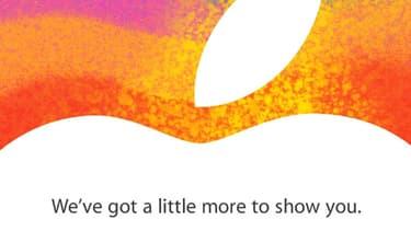Le logo Apple, le fabricant de l'iPhone