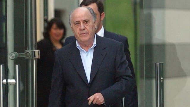 Amancio Ortega, le patron d'Inditex (Zara)