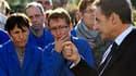 En déplacement dans l'Eure-et-Loir, où il est notamment intervenu devant des ouvriers de Roller Grill International, une PME spécialisée dans les équipements de cuisine, Nicolas Sarkozy a justifié l'emploi de la manière forte pour débloquer les dépôts de